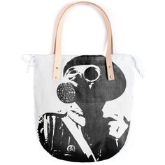 Shop GAS MASK 5 Summer Tote by THE GRIFFIN PASSANT STREETWEAR STREETWEAR | Print All Over Me