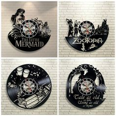Rock n' Roll Around the Clock with Disney Record Clocks