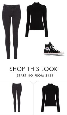 """""""Untitled #438"""" by ootori5sos on Polyvore featuring Maison Scotch, Misha Nonoo and Converse"""