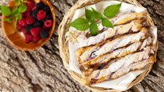 Rýchle sladké tyčinky z lístkového cesta   Recepty.sk Camembert Cheese, Sandwiches, Ethnic Recipes, Food, Party, Basket, Essen, Parties, Meals