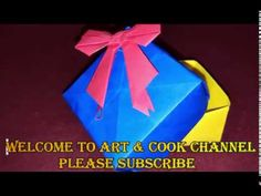 Gift box- YouTube