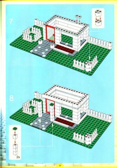 Thousands of complete step-by-step printable older LEGO® instructions for free. Here you can find step by step instructions for most LEGO® sets. Legos, Lego Creationary, Lego Craft, Lego Toys, Lego Star, Lego Mindstorms, Lego Minifigs, Modele Lego, Lego Building Sets