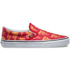 138bc8fdd33d5d sale Vans Shoes Late Night Slip-On (mars red pizza)