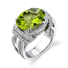 Simon G ring (GORGEOUS), my birthstone - would love to see it with a ruby