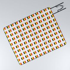 Flag of belgium with soft square Picnic Blanket by oldking Get The Party Started, Spreads, Belgium, Picnic Blanket, Blankets, Summertime, Trips, Flag, Sun