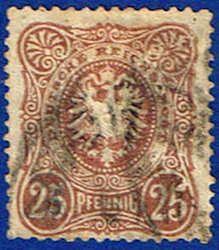 Pfennig Stamp German Empire Germany Stamp for sale-EU GGE German Confederation, Rare Stamps, Vintage World Maps, Germany, Poster, Postage Stamps, Self, Deutsch, Billboard