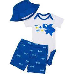 7631e500e50 Gerber Newborn Boy 3 Piece Bodysuit