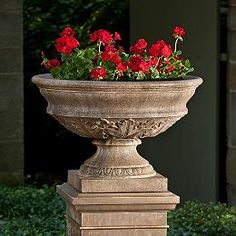 1000 Images About Outdoor Flower Pots Amp Pedestals On