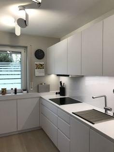 Kitchen Lighting Design, Kitchen Room Design, Best Kitchen Designs, Home Decor Kitchen, Interior Design Kitchen, Home Kitchens, Modern Kitchen Cabinets, Contemporary Kitchen Design, Küchen Design