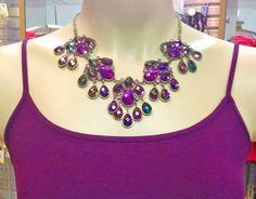 Brittney's Purple Rain Necklace
