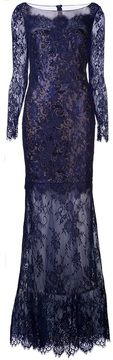 Marchesa Notte knit lace gown on shopstyle.com