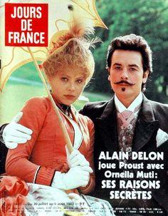 Alain Delon and Ornella Muti