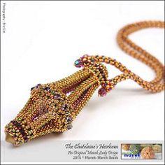 The Chatelaine's Heirloom (The Manek Lady) Tags: beads crystal workshop swarovski tipp craw beadweaving maneklady