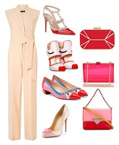 """Playful Love!!!"" by la-harrell-styling-co on Polyvore featuring Miss Selfridge, Christian Louboutin, Fendi, Valentino, Posh Girl, INC International Concepts, Sara Battaglia, women's clothing, women and female"