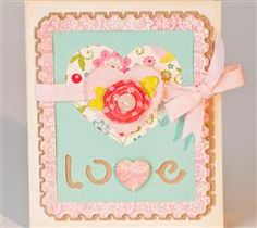 Send your love to a special someone with this pretty card!