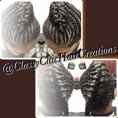 #Fishtail, #GoddessBraids, #natural hair, #protective styles #fishtailbraids