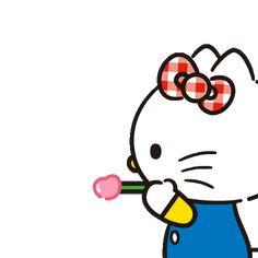 Hello Kitty Lovely Pop-Up Stickers Hello Kitty My Melody, Pink Hello Kitty, Sanrio Hello Kitty, Star Gif, Hello Kitty Images, Emoji Pictures, Hello Kitty Wallpaper, Cartoon Gifs, Little Twin Stars
