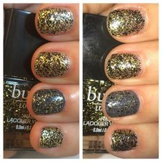 Butter London Brass Goggles from the Steampunk Ball Collection.  Click to see more pictures!   #Franken_cense #ButterLondon #BrassGoggles #NailPolish #SteampunkBall #Glitter