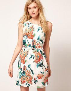 Oasis Botanical Silk Dress