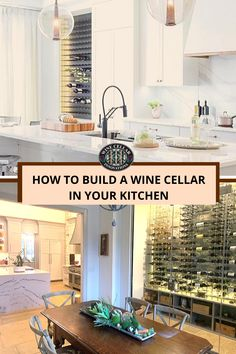 Want to revamp your kitchen decor? What better way to remodel your kitchen in a modern way than with a custom wine cellar! We're here to help you build the modern wine cellar of your dreams! Wine Cellar Innovations, Home Wine Cellars, Wine Cellar Design, Diy Furniture Plans, Diy Home Decor Projects, Cool Rooms, House Rooms, Living Room Designs, Living Spaces
