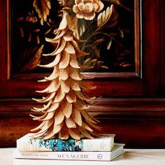 Transform Cork Material into a Festive Holiday Tree with This Tutorial #christmas trendhunter.com
