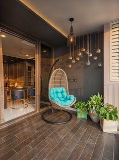 Modern Balcony, Small Balcony Design, Small Balcony Decor, Balcony Ideas, Balcony Decoration, Home Garden Design, Home Room Design, Home Interior Design, House Design