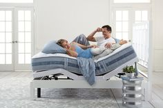 The New Serta® Perfect Sleeper® - Engineered to help solve 5 common sleep problems, available at Howell Furniture. Howell Furniture, Sleep Problems, Safe Haven, Best Mattress, Adjustable Beds, Furniture Outlet, Comfort Zone, Bassinet, Toddler Bed