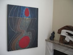Scientific Proof of Soul-acrylics on canvas-on the wall...