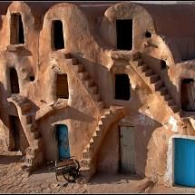 I used to always draw pueblos like this as a child. I don't know why.