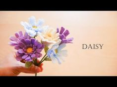 How to make felt flowers - Anemone (easy!) - YouTube