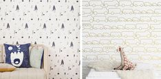 Fun Wallpaper for Boysrooms - by Kids Interiors