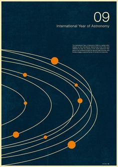 Intl. Year of Astronomy #2, an art print by Simon C Page - INPRNT