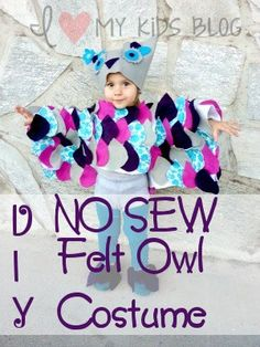 Make+your+own+toddler+owl+costume+out+of+felt+and+hot+glue!+Absolutely+no+sewing+involved!