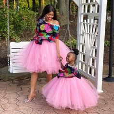 African Mother and daughter dress/African attire /African   Etsy African Dresses For Kids, Latest African Fashion Dresses, Mermaid Dresses, Girls Dresses, Mum And Daughter Matching, Mother Daughter Fashion, Mom Daughter, Kente Dress, Baby Girl Dress Patterns