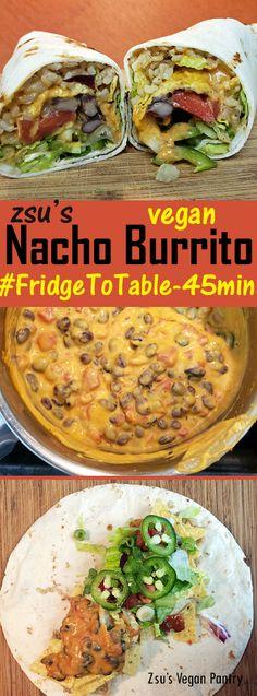 Zsu's Vegan Pantry: nacho burritos