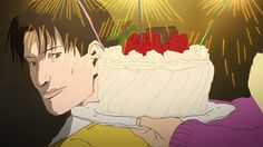 Crunchyroll - FEATURE: Cooking With Anime - Christmas Cake from EVERY ANIME EVER (and Ping Pong the Animation)