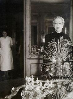 Elsie de Wolfe, in Schiaparelli  American Interior Decorator, 1865-1950