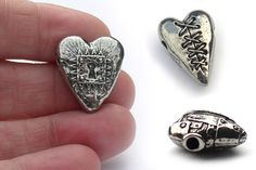 Valentines Day is approaching and these unique Valentines Day Hearts are perfect for inspirational jewelry. Jewelry making ideas are often inspired by really cool beads, and below are a few exampl...