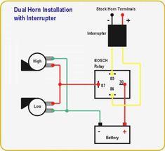[SCHEMATICS_48EU]  46 Best Automotive electrical images in 2020 | Automotive electrical,  Automotive repair, Electricity | Horn With Relay Wiring Diagram Bsa |  | Pinterest