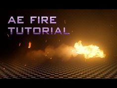 After Effects Tutorial: Animated Fire - Trapcode Particular - YouTube