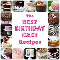 The best birthday cake recipes