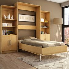 Beds - Features: Bookcase-Storage Available | Wayfair