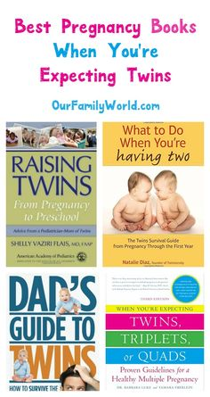 These are the pregnancy books you want to read when expecting twins! Check them out!