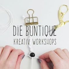💛 Alles von Hand mit Herz 💛 (@die_buntique) • Instagram-Fotos und -Videos Petra, Workshop, Anna, Diy Blog, Instagram, Videos, Pictures, Creative, Atelier