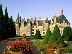 Chateau De Chambord Castle Loire Valley France.