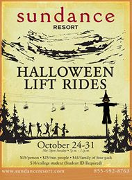 Sundance Resort - Halloween Lift Rides
