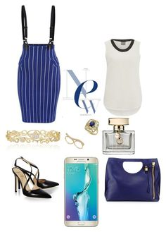 """Untitled #145"" by karla-mouque on Polyvore featuring Vero Moda, Alexander White, Tom Ford, Effy Jewelry, Samsung and Gucci"