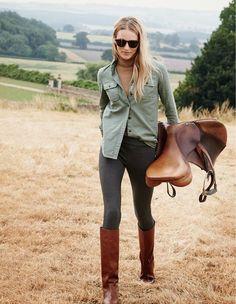 My favorite mode: equestrian.