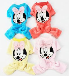 Cute Puppy Clothing Mickey Mouse Sweat Shirt Sweaters for Dogs Clothing - Have a…