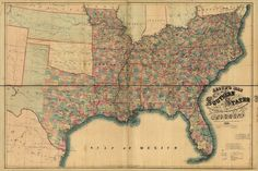 24x36 Vintage Civil War Coltons New RR /& County Map US /& Canadas 1861